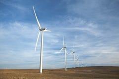Wiatrowi energia młyny Obrazy Stock