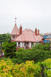 Wiatrowskazu dom Obraz Royalty Free