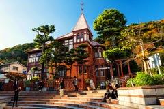 Wiatrowskazu dom, Kobe Obrazy Royalty Free