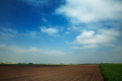 Wiatrowy gospodarstwo rolne Zdjęcia Stock