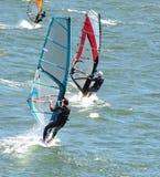 Wiatrowy surfing Zdjęcie Royalty Free