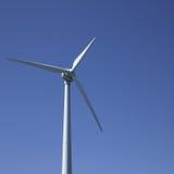 Wiatrowy turbin Zdjęcia Stock