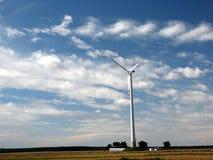 Wiatrowy turbin Obrazy Royalty Free