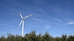 Wiatrowy turbine/ Zdjęcia Royalty Free