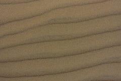 Wiatru i piaska tekstury wzór Fotografia Royalty Free