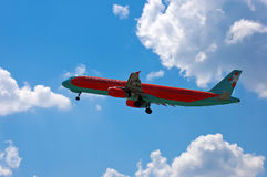 Wiatru Różany lotnictwo Aerobus A321 Obrazy Stock