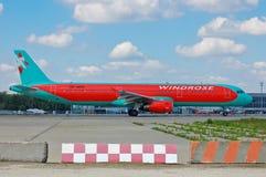 Wiatru Różany lotnictwo Aerobus A321 Obraz Royalty Free