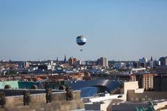 Światu balon nad Berlin Obraz Royalty Free