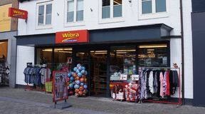Wibra廉价商店在荷兰 免版税库存图片