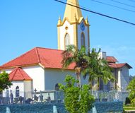 Wibracja kościół Obrazy Royalty Free