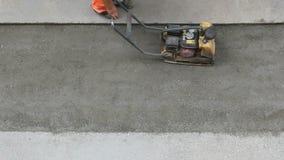 Wibracyjny glebowy compactor zdjęcie wideo