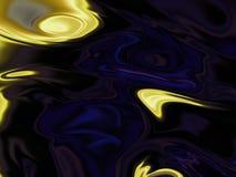 Wibrująca kolor tapeta Maluje w ruchu na temat twórczości, wyobraźni i energii życie, obraz stock