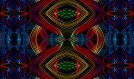 Wibrujący mozaiki kaleidescope abstrakta tło royalty ilustracja