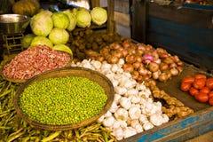 Wibrujący kolory warzywo rynek Obraz Stock
