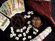 Wicca działania Fotografia Royalty Free
