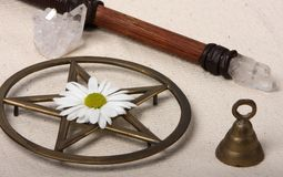 Wiccan Objects Stock Photos