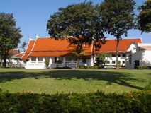 Wichai Prasit Fort(recorded on November 8, 2009). Wichai Prasit fort was originally built in the time of the previous kingdom of Ayutthaya to prevent ships from Stock Images