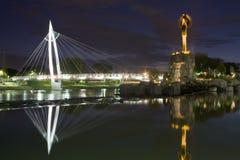 Wichita-Brücke Lizenzfreie Stockfotos
