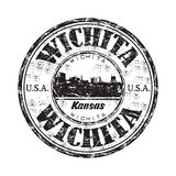 Wichita grunge rubber stamp Royalty Free Stock Photo