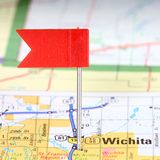 Wichita, Kansas Foto de Stock