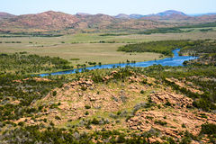 Wichita Mountains National Wildlife Refuge Royalty Free Stock Image