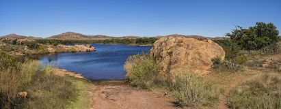 Wichita Mountains Stock Photo