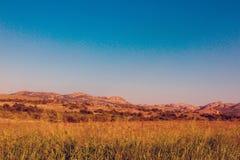 Wichita Mountains Wildife Refuge. In southwestern Oklahoma in autumn Stock Images