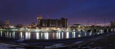 Wichita skyline Stock Images