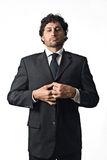 Wichtiger Geschäftsmann Lizenzfreies Stockfoto