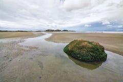 Wickaninnish plaża blisko Tofino Obraz Royalty Free