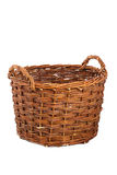 Wicked basket Royalty Free Stock Image