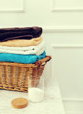 Wicked basket Royalty Free Stock Photography