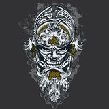 Wicked Mask Illustration Stock Images