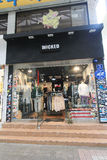 Wicked shop in South Korea Royalty Free Stock Photography