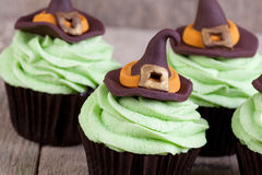 Wicked which cupcakes Royalty Free Stock Image