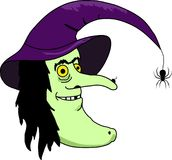 WICKED WITCH Royalty Free Stock Images