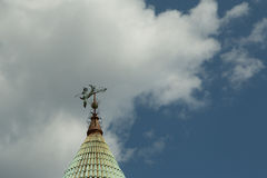 Wicked Witch Weathervane Royalty Free Stock Images