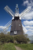 Wicken Windmill Royalty Free Stock Images
