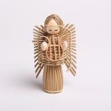 wicker ангела стоковые изображения rf