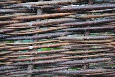 wicker загородки стоковое изображение