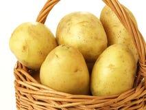 wicker картошек крупного плана Стоковые Фотографии RF