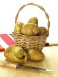 wicker картошек Стоковые Изображения
