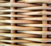 wicker корзины предпосылки Стоковое Изображение