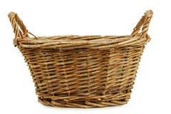 wicker корзины пустой Стоковое фото RF