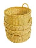 wicker корзины пустой Стоковое Изображение RF