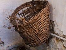 wicker корзины handmade Стоковая Фотография