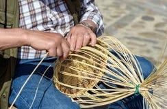 wicker корзины handmade Стоковая Фотография RF