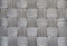 wicker предпосылки серебряный Стоковые Фото