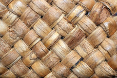 wicker текстуры волокна Стоковая Фотография RF