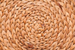 wicker текстуры корзины Стоковая Фотография